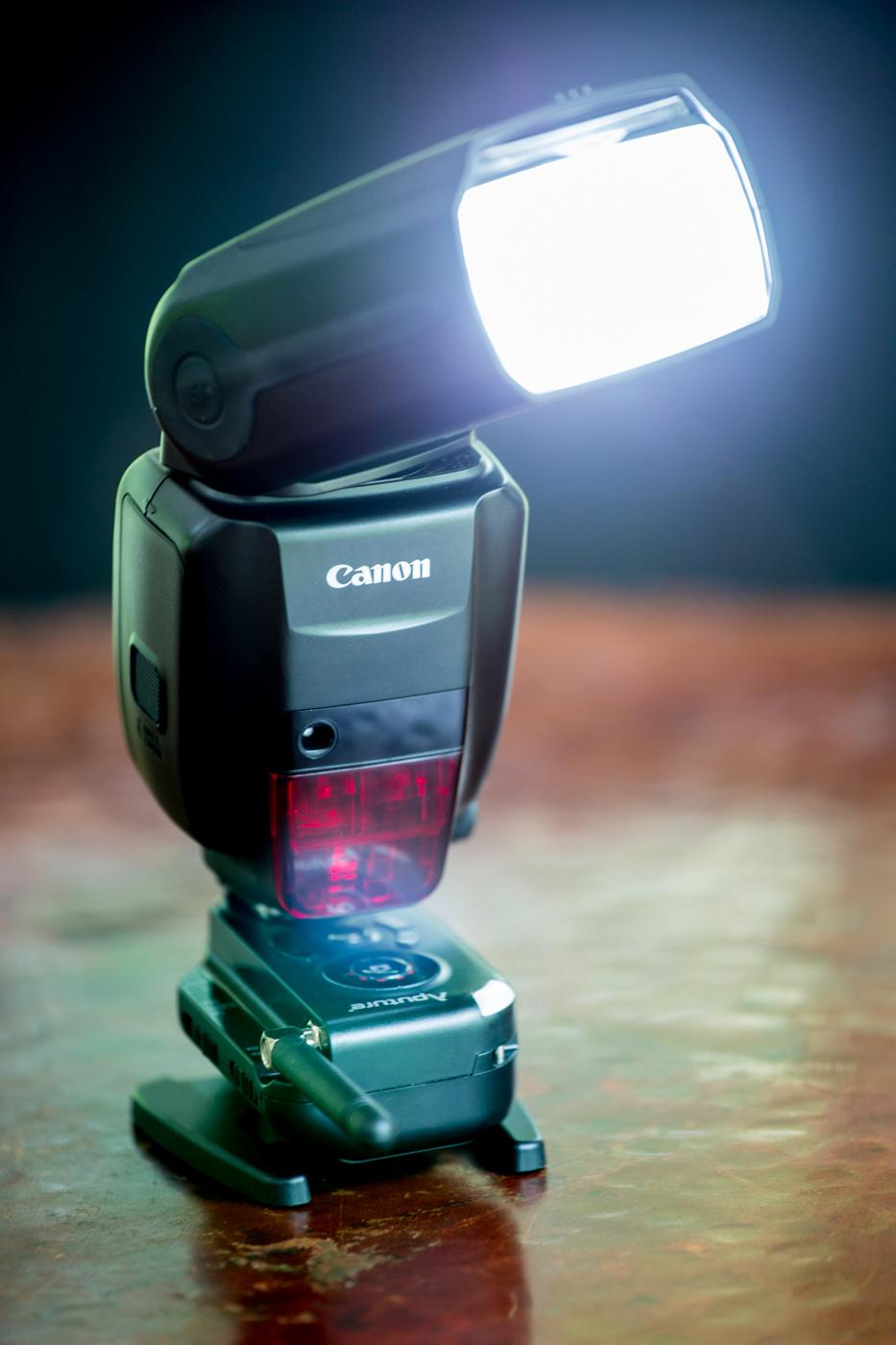 Canon's new flagship speedlite, the 600ex-rt