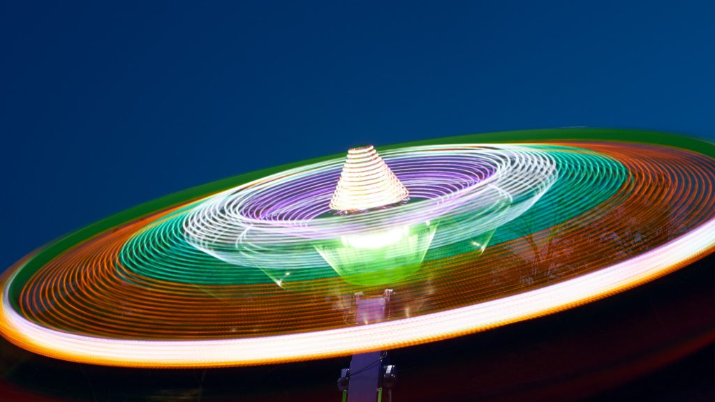 Photographing Summer Carnivals and Festivals Using Long Exposure