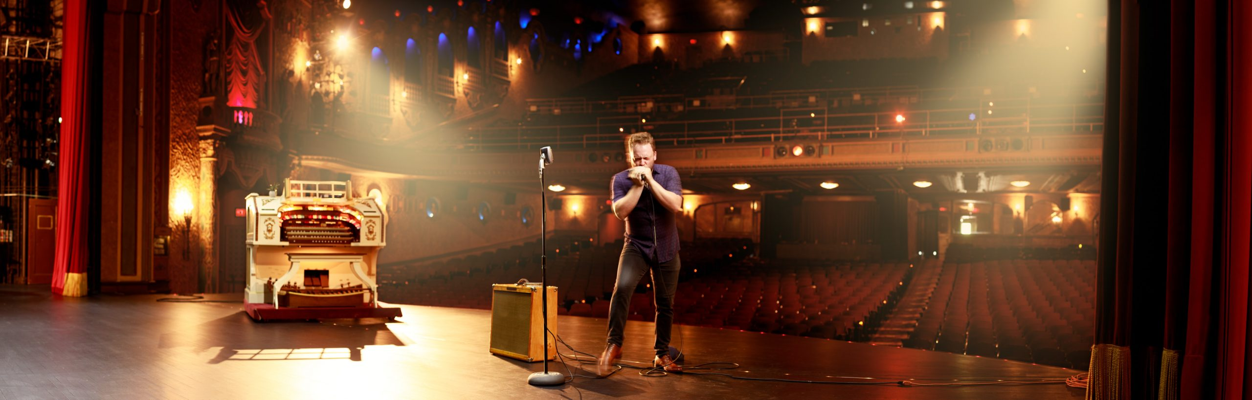 Jake Friel at the Canton Palace Theater - Commercial Portrait Photography